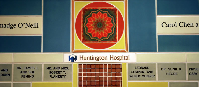 Huntington Memorial Hospital Neurorehabilitation Unit Capital Campaign Donor Wall